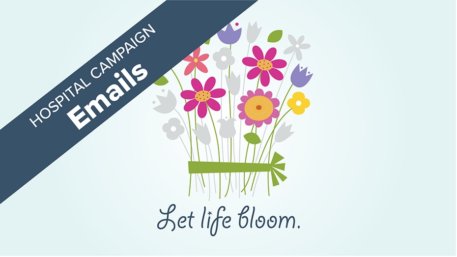 emails para campañas en los hospitales - Que florezca la vida