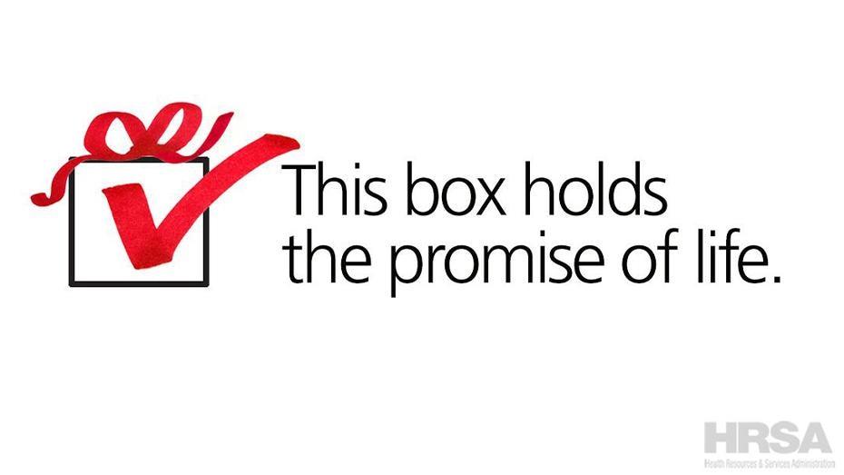 Esta caja contiene la promesa de la vida