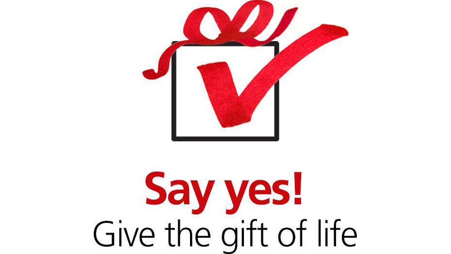 ¡Diga que sí! Done el regalo de la vida
