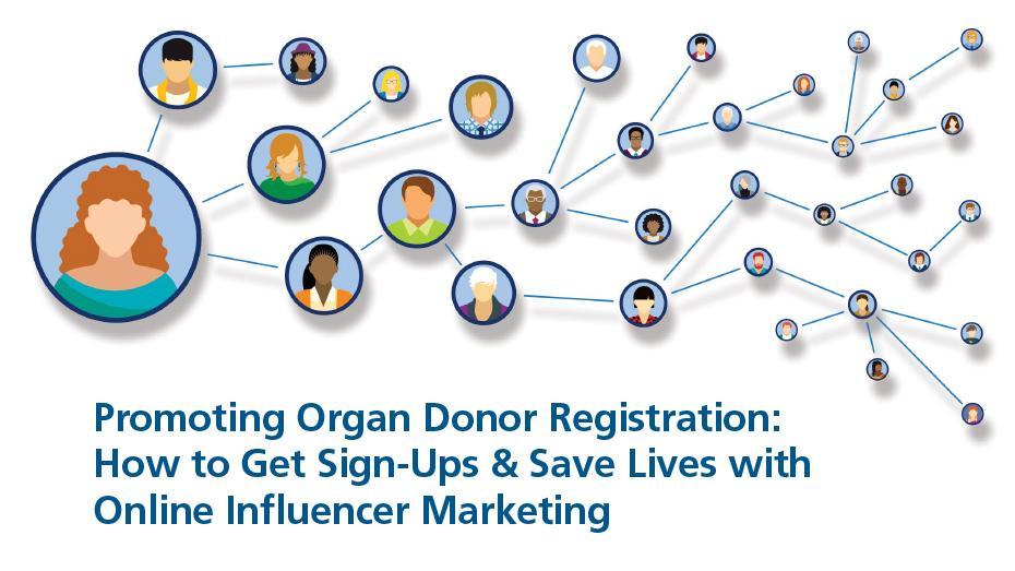 Promover la inscripción de donantes de órganos: cómo conseguir inscritos y salvar vidas con el marketing para influencers en línea