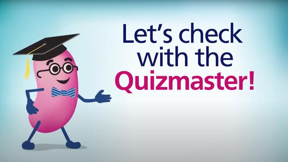 ¡Vamos a verificarlo con el Quizmaster!